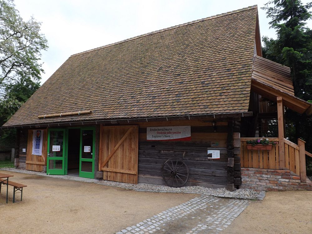 Entdeckerscheune (Naturschutz-Tierpark Görlitz)