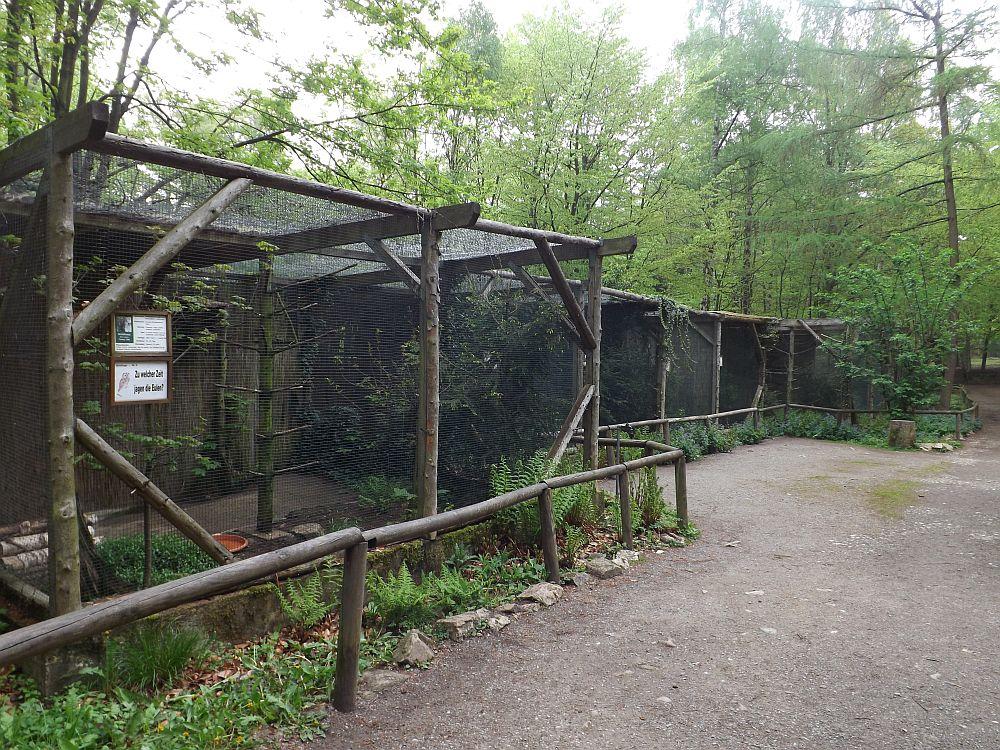 Eulenvolieren (Tierpark Hexentanzplatz)