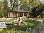 Stachelschweinanlage (Tierpark Hirschfeld)