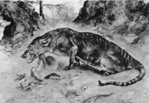 Mesonyx (Charles R. Knight)