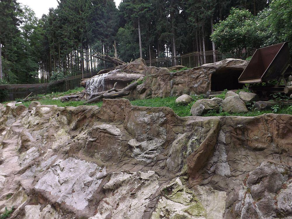 Anlage für Wölfe und Bären (Wildpark Lüneburger Heide)