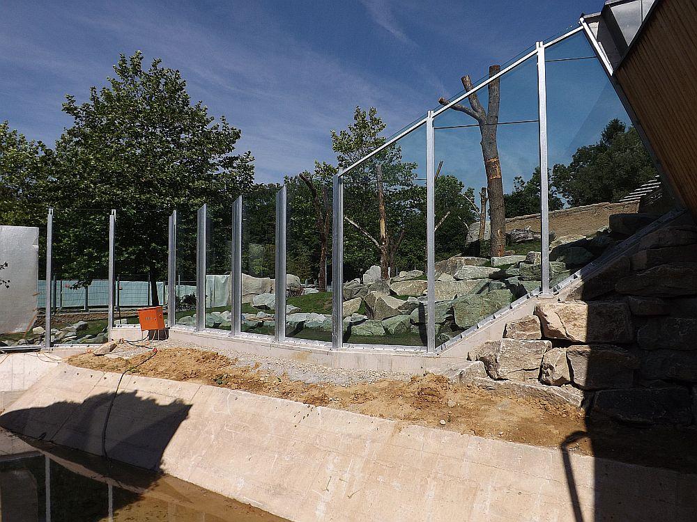 Baustelle Menschenaffenanlage (Tierpark Hellabrunn)