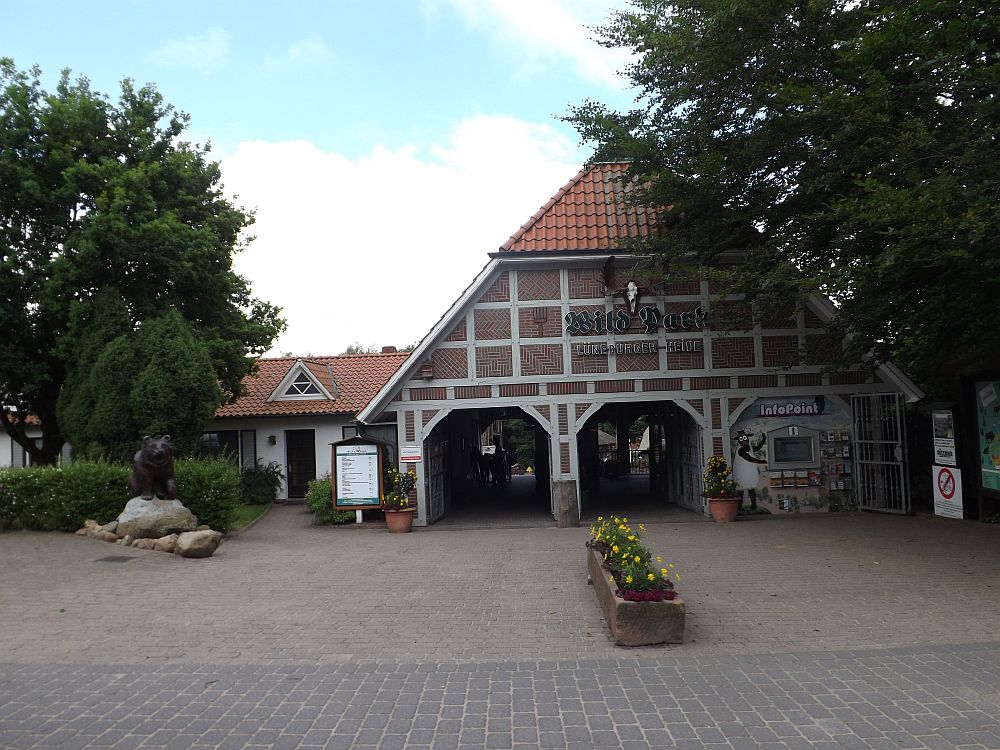 Eingang (Wildpark Lüneburger Heide)