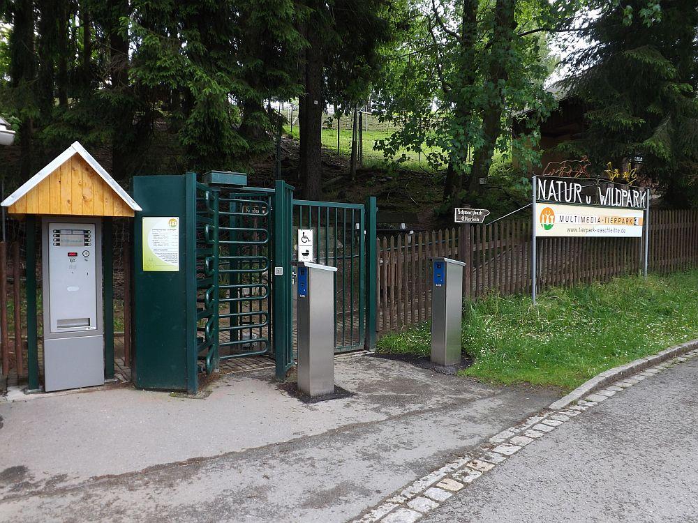 Eingang (Natur- und Wildpark Waschleithe)