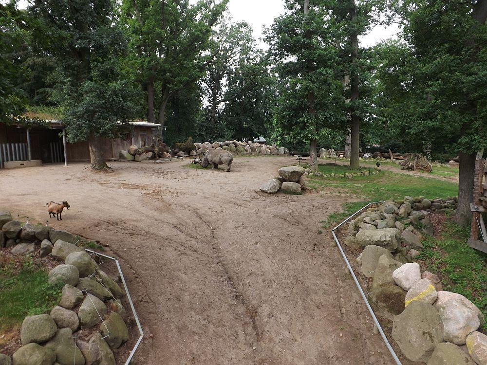 Nashornanlage (Zoo Schwerin)