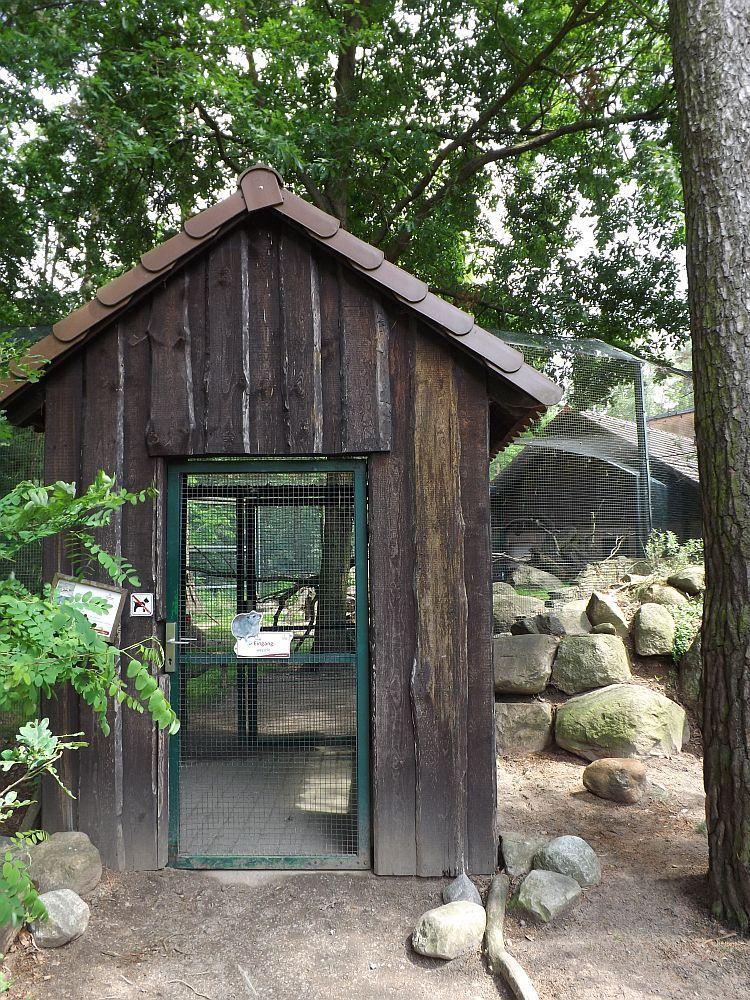 Begehbare Schlieferanlage (Tierpark Cottbus)