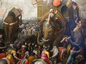 Die Schlacht von Zama (Cornelius Cort)