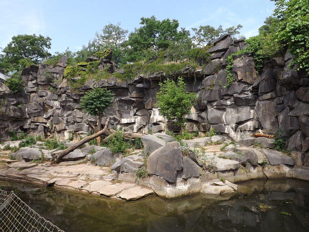 Tierparkaußenanlage im Alfred-Brehm-Haus (Tierpark Berlin)