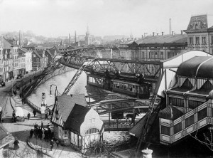 Wuppertaler Schwebebahn 1913