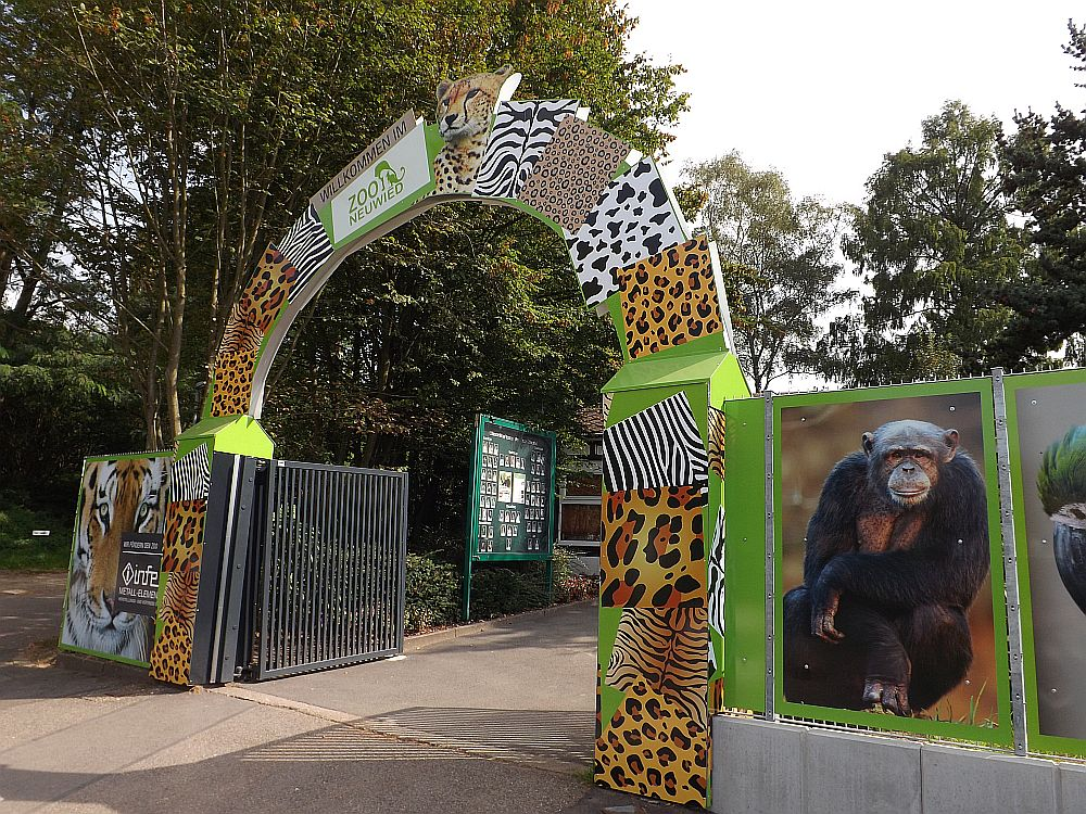 Eingang (Zoo Neuwied)