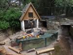 Stachelschweinanlage (Tierpark Senftenberg)