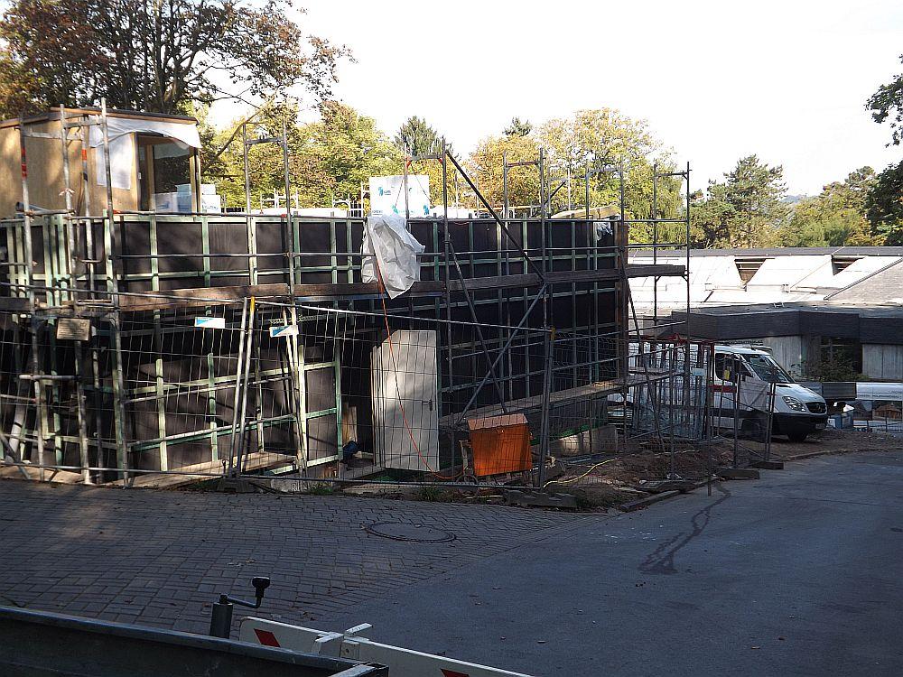 Baustelle Gastronomie (Zoo Wuppertal)