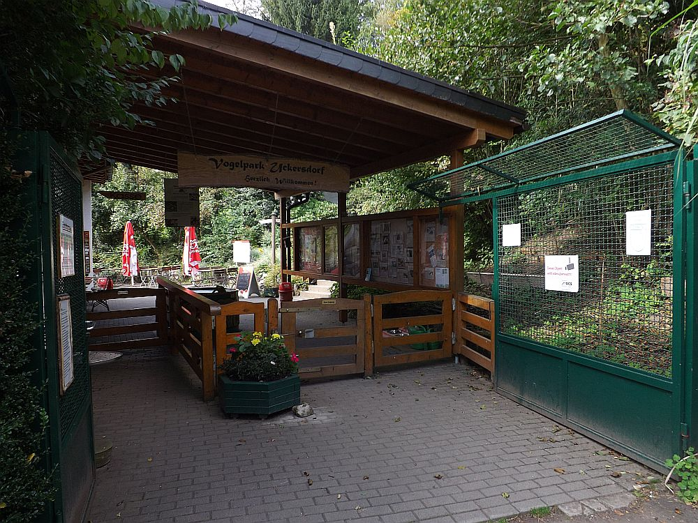 Eingang (Vogelpark Herborn)