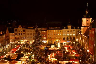 Weihnachtsmarkt Jena (wolfgang teuber /pixelio.de)