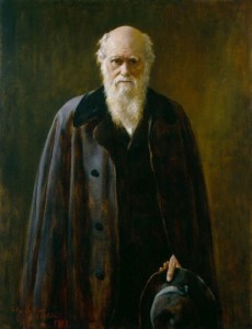 Charles Darwin, kurz vor seinem Tod (John Collier)