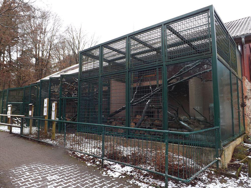 Affenaußengehege (Zoo Kaiserslautern)
