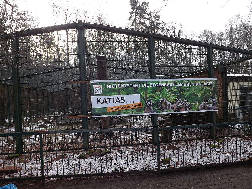 Begehbare Kattanlage (Zoo Kaiserslautern)