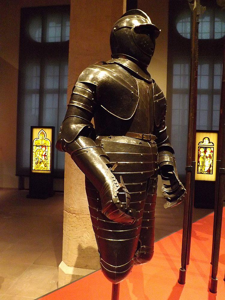 Rüstung für einen Reiter, 17. Jhd (hessisches Landesmuseum)