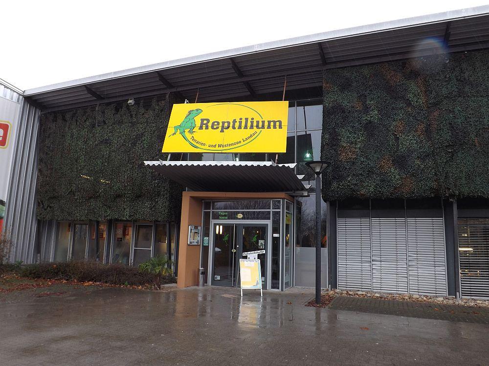 Eingang (Reptilium Landau)