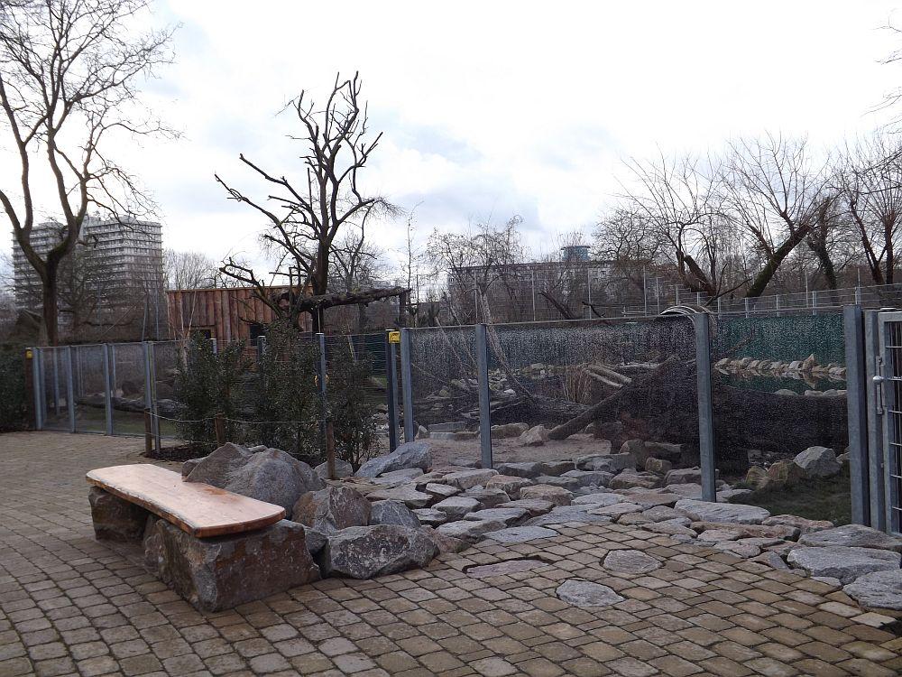 Waschbäranlage (Zoo Heidelberg)
