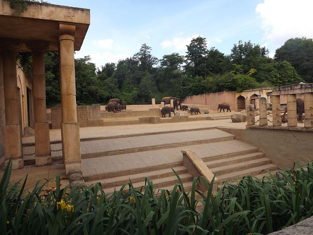 Elefantenanlage (Erlebniszoo Hannover)