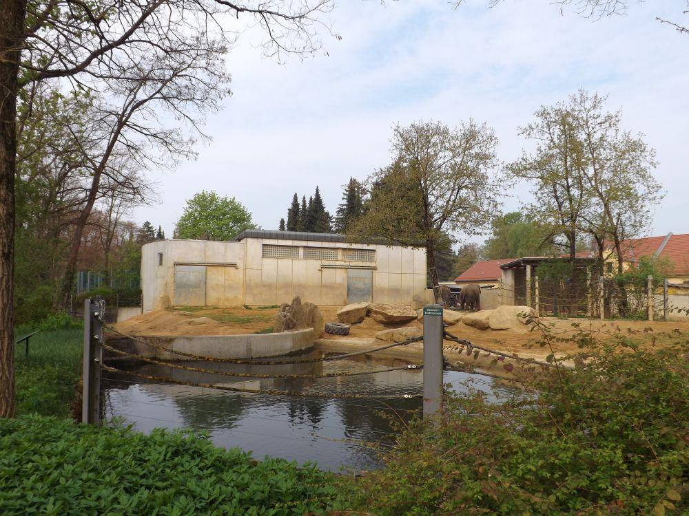 Elefantenanlage (Zoo Augsburg)