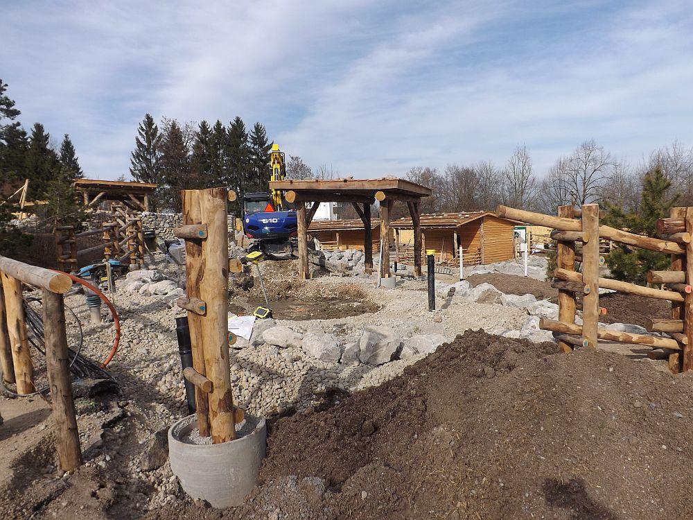 Baustelle Mongolische Steppe (Zoo Zürich)