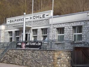 Baumannshöhle Rübeland, Eingang