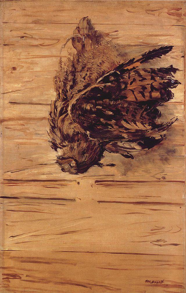 Toter Uhu (Édouard Manet)
