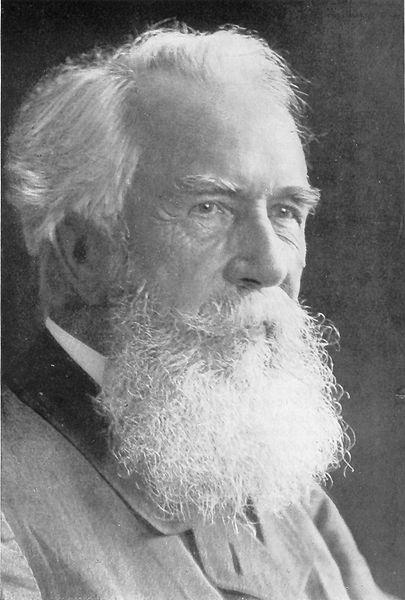 Ernst Haeckel (Archiv Deutsche Akademie der Naturforscher Leopoldina. aus: Hans Stubbe:Kurze Geschichte der Genetik bis zur Wiederentdeckung Gregor Mendels Jena, 2. Auflage 1965)