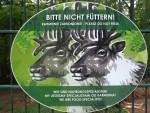 Beschilderungsbeispiel (Zoo Eberswalde)