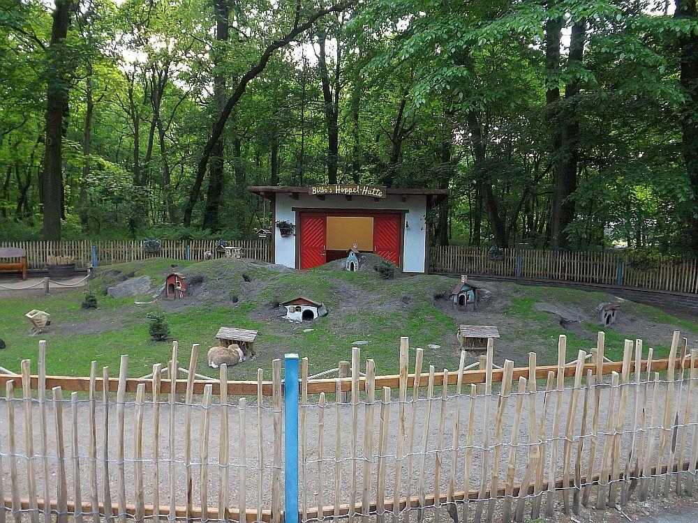 Bilbos Hoppelhütte (Tierpark Berlin)