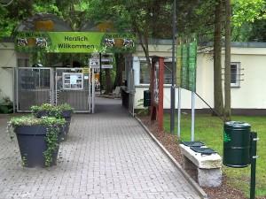 Eingang (Tierpark Eberswalde)