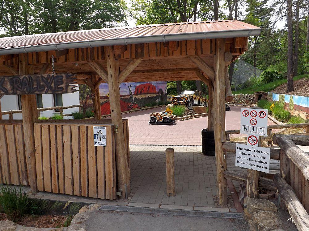 Rallye-Spielplatz (Tiergarten Eisenberg)