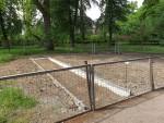 Baustelle Spielplatz (Tierpark Dessau)