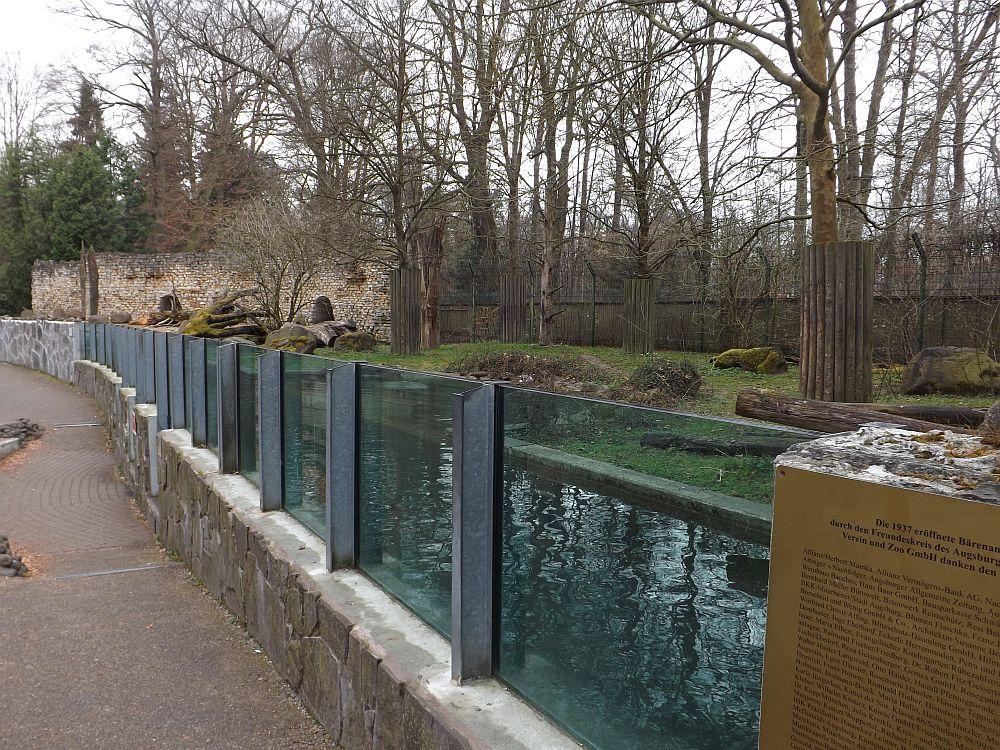 Braunbärenanlage (Zoo Augsburg)