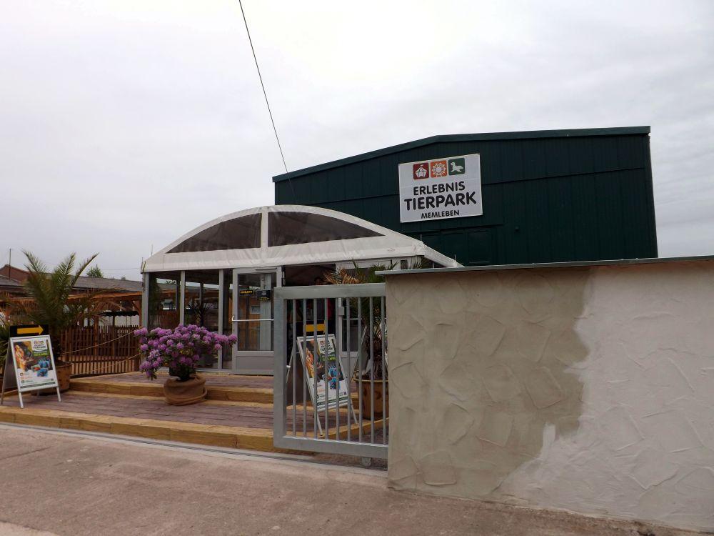 Eingang (Erlebnistierpark Memleben)
