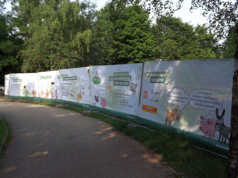 Geplanter Haustierpark (Zoo Linz)