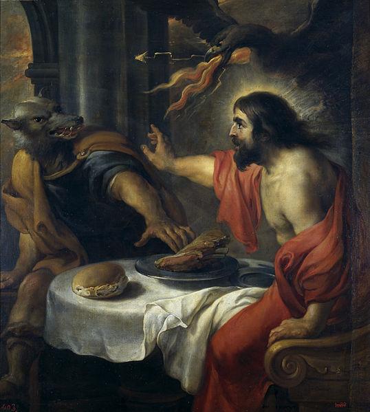 Jupiter und Lycaon ( Jan Cossiers)