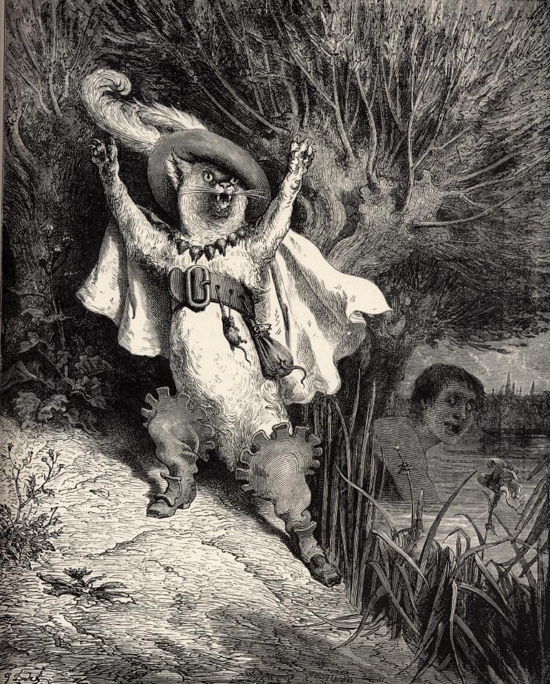 Der gestiefelte Kater (Gustave Doré )