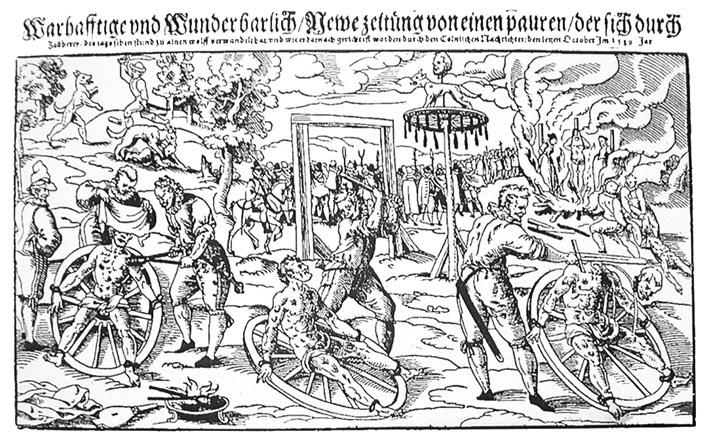 Hinrichtung Peter Stump (Lukas Mayer,1589)