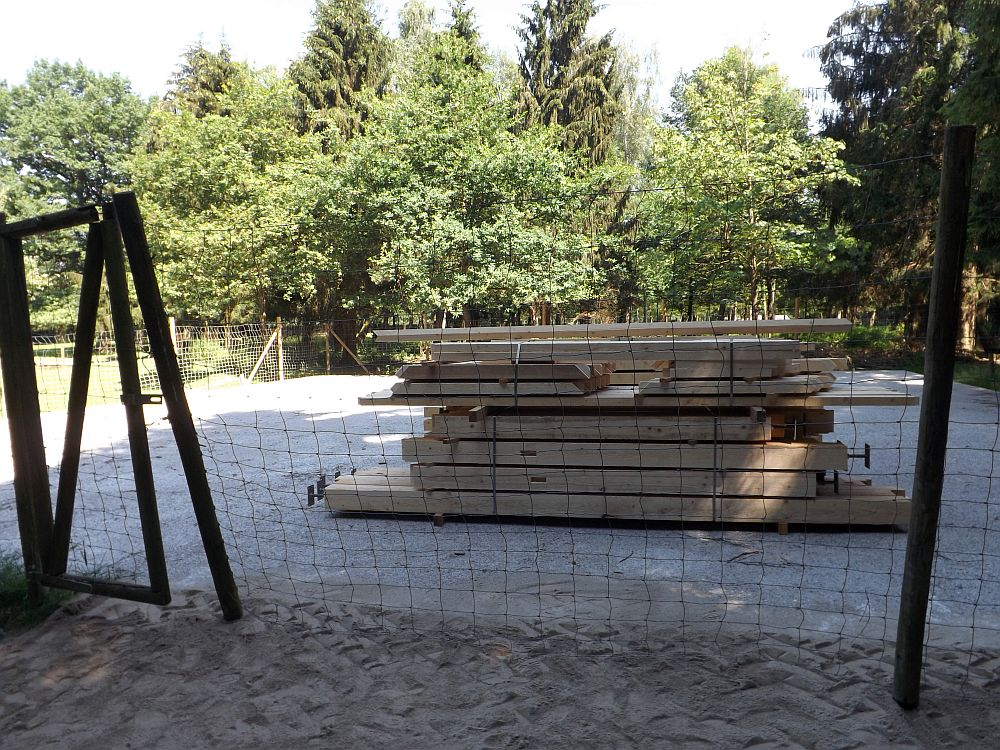 Baustelle (Wildpark Poing)