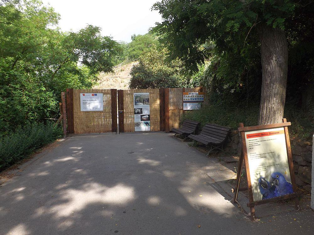 Baustelle (Zoo Prag)