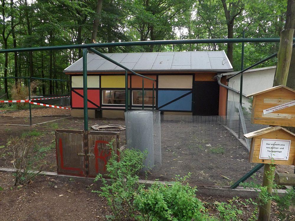 Baustelle (Tierpark Finsterwalde)