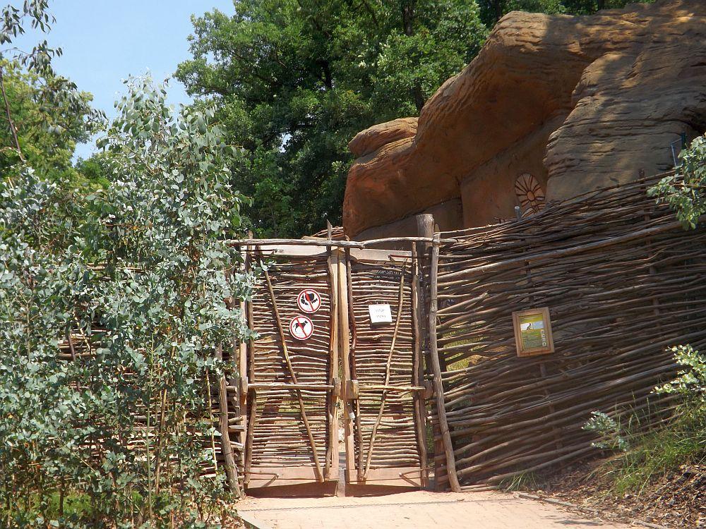 Känguruhanlage (Zoo Brno)