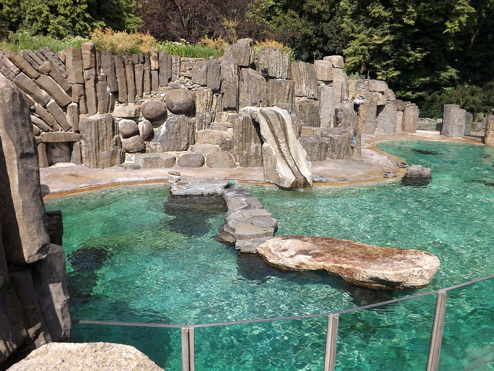 Seelöwenanlage (Zoo Prag)