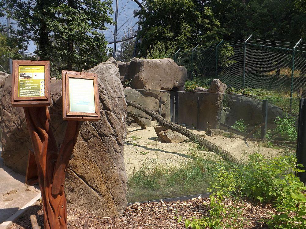 Stinktieranlage (Zoo Brno)