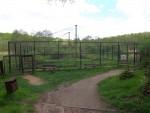 Schwarzstorchvoliere (Tierpark Kunsterspring)
