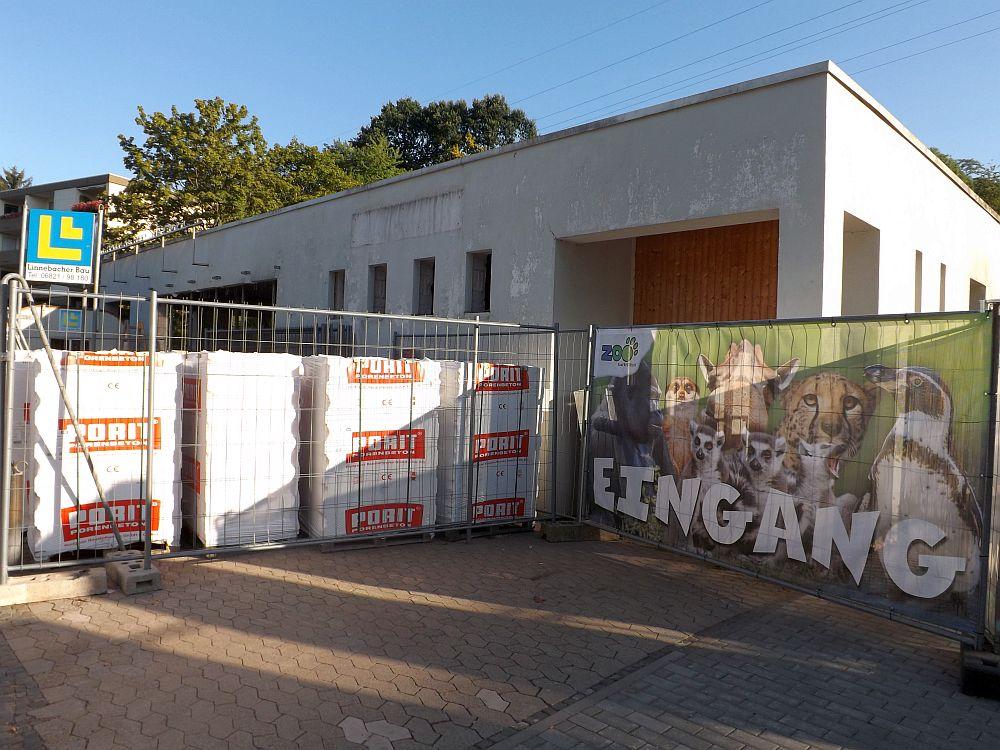 Eingang (Zoo Saarbrücken)