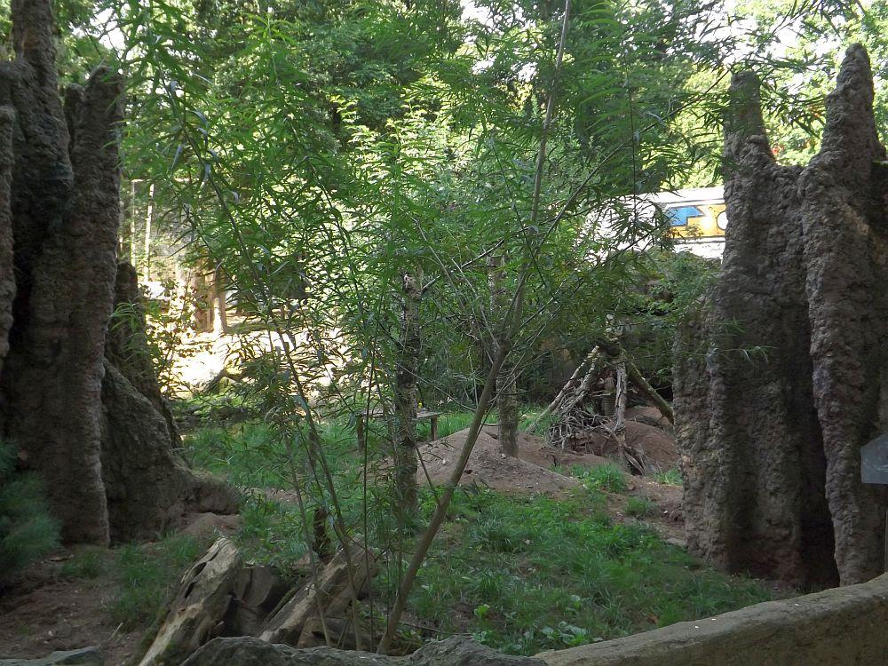 Erdmännchenanlage (Ouwehands Dierenpark)